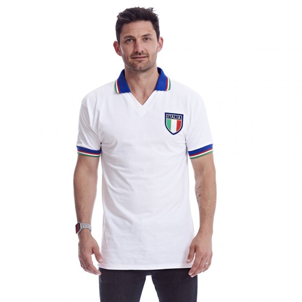 Italia 1982 Away shirt back model