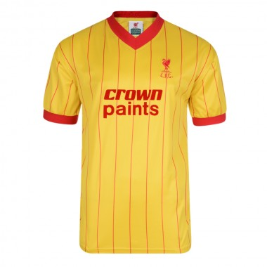 Liverpool FC 1982 Away Retro Football Shirt