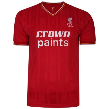 Liverpool FC 1986 Retro Football Shirt