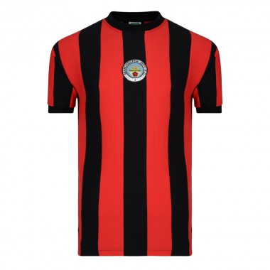 Manchester City 1972 Away Retro Football Shirt