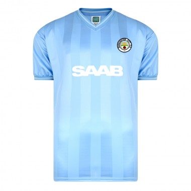 detailed pictures 93620 abca5 Manchester City 1984 Retro Football Shirt