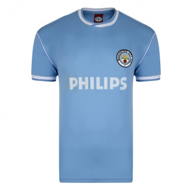 Manchester City 1986 Retro Football Shirt