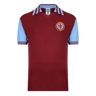 4e398a16631 Aston Villa 1981 Retro Football Shirt