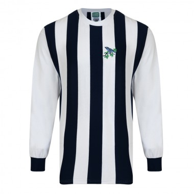 West Bromwich Albion 1968 Retro Football Shirt