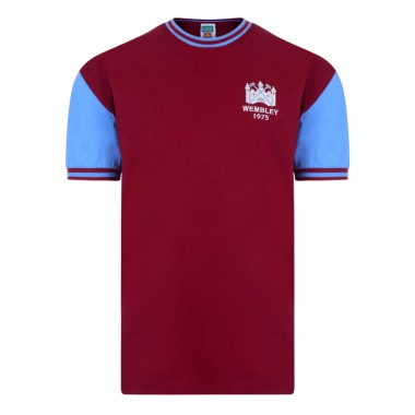 West Ham United 1975 FA Cup Final No4 Retro Shirt