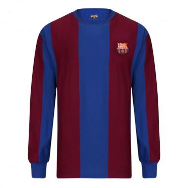 f5d6158bd Barcelona 1974 Long Sleeve Retro Football Shirt