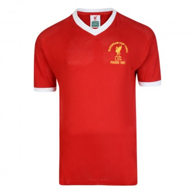 Liverpool FC 1981 European Cup Final Retro Shirt