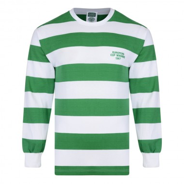 Celtic 1967 European Cup Winners LS Retro Shirt