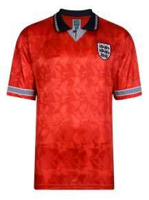 England 1990 World Cup Boys Away Retro Shirt