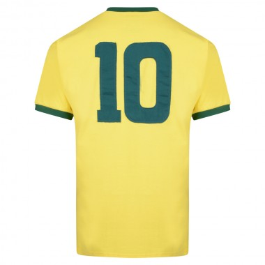 Brasil 1970 World Cup Final No10 shirt