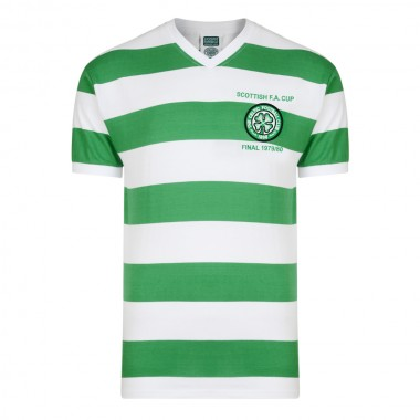 Celtic 1980 Scottish Final Retro Football Shirt