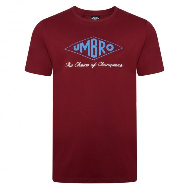 Umbro Choice of Champions Claret Tee