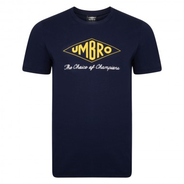 Umbro Choice of Champions Navy Tee