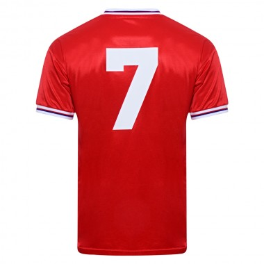England 1982 World Cup Finals Away No7 Retro Shirt