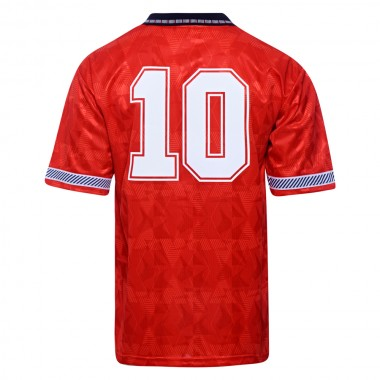 England 1990 World Cup Finals Away No10 Shirt