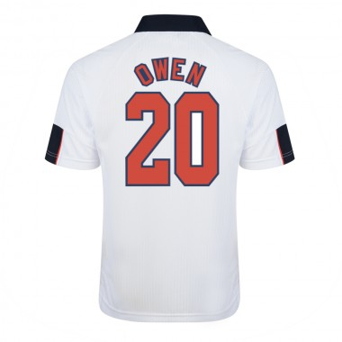 England 1998 World Cup Finals No20 Owen Shirt