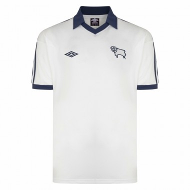 Derby County 3 Retro Official Derby County Fc Retro Football Shirts