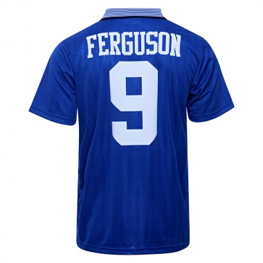 Everton 1995 Umbro FA Cup Final No9 Ferguson Shirt