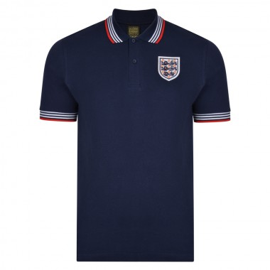England 1974 Empire Navy Polo shirt