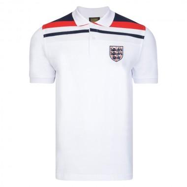 df53d22b2 England 1982 Empire White Polo shirt