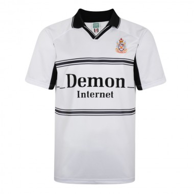 Fulham 2001 Retro Football Home Shirt