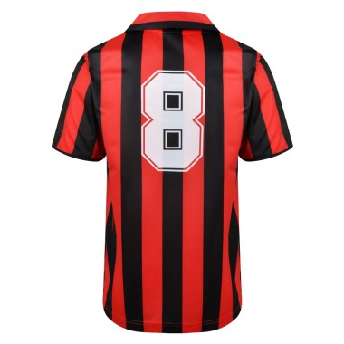 AC Milan 1988 No8 Retro Football Shirt