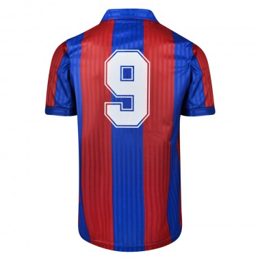 Barcelona 1992 No.9 Retro Football Shirt