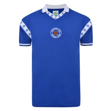 Leicester City 1976 Admiral shirt