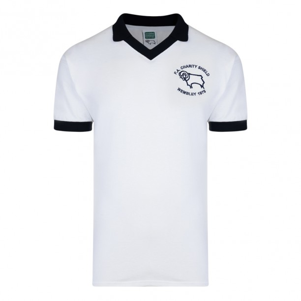 3446162227c Buy Derby County 1975 Charity Shield Retro Shirt
