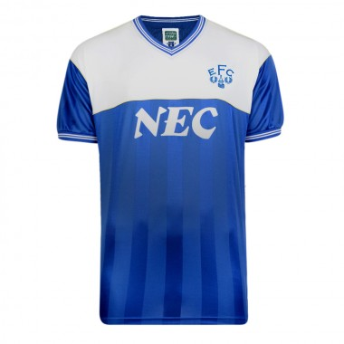 Everton 1986 Retro Football Shirt