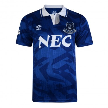 Everton 1992 Umbro Retro Football Shirt