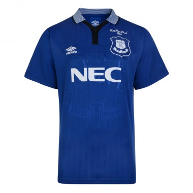 Everton 1995 Cup Final Umbro Retro Football Shirt
