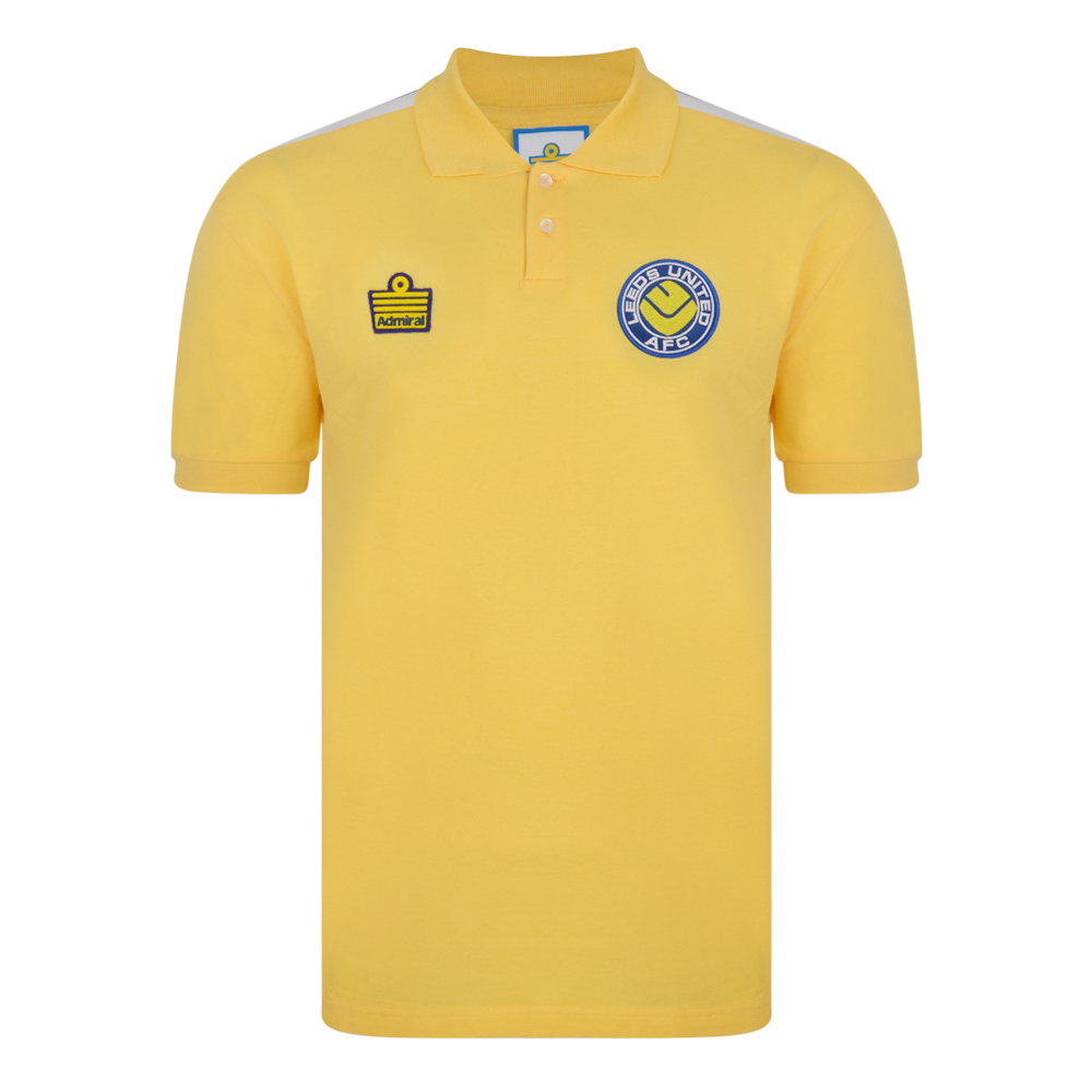 Leeds United 1978 Away Admiral shirt