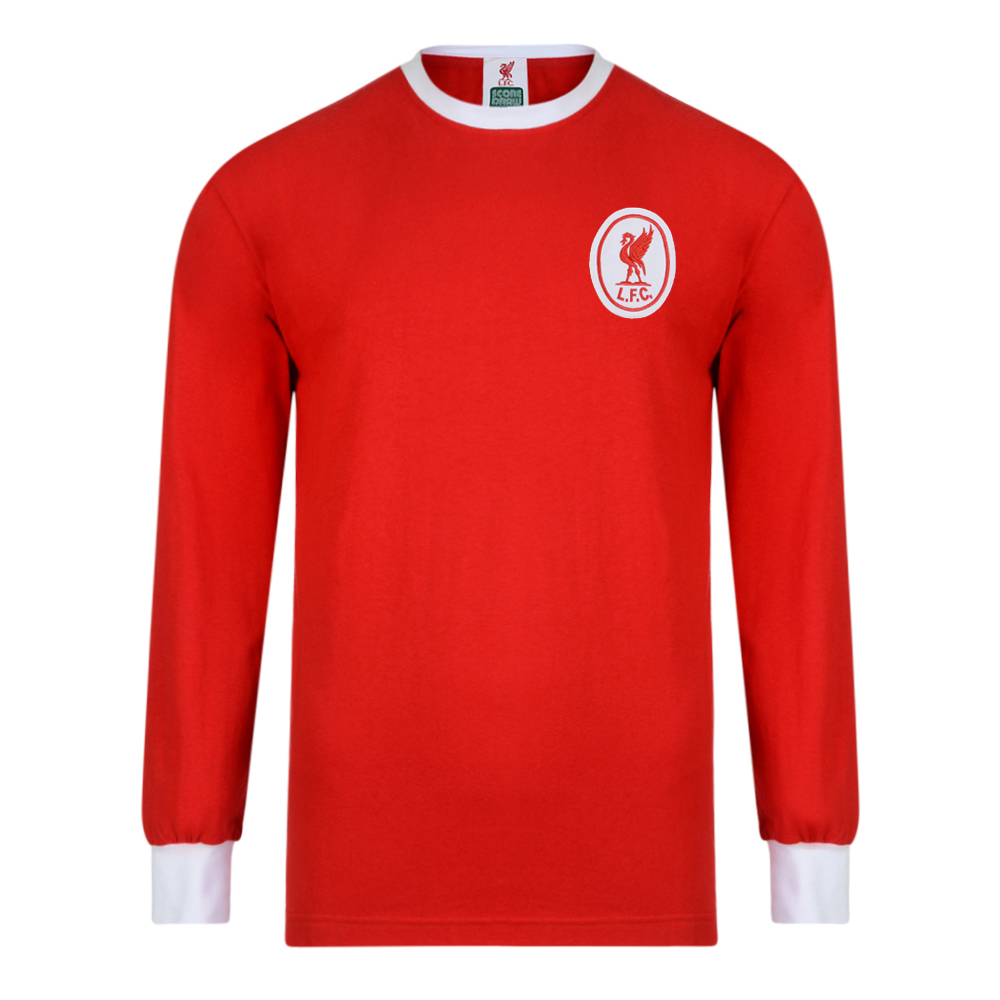 a98c25b4a Buy Liverpool FC 1964 Long Sleeve Retro Football Shirt