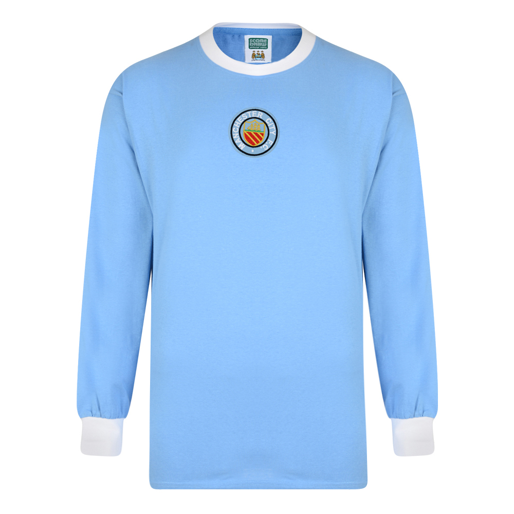 Manchester City 1970 Long Sleeve Retro Shirt