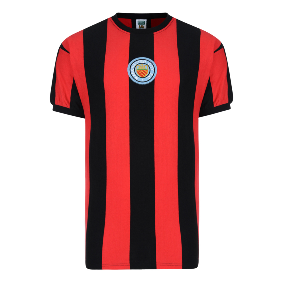 Manchester City 1970 No8 Away Retro Shirt