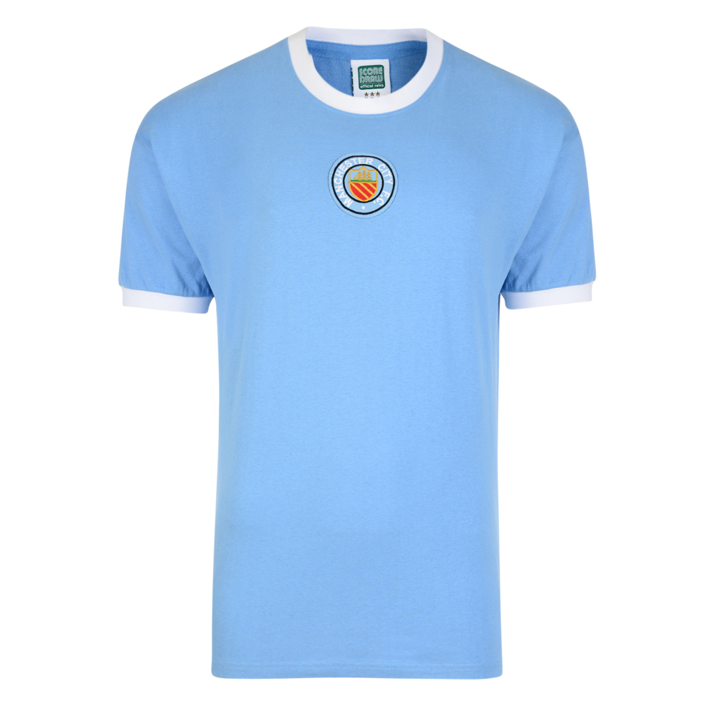 Manchester City 1970 No8 Retro Football Shirt