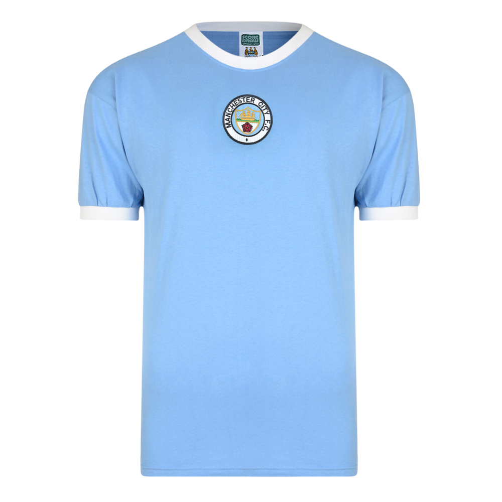 5b4963dcb Buy Manchester City 1972 No8 Retro Football Shirt | Manchester City 1972  No8 Shirt | Manchester City Retro Jersey | 3 Retro