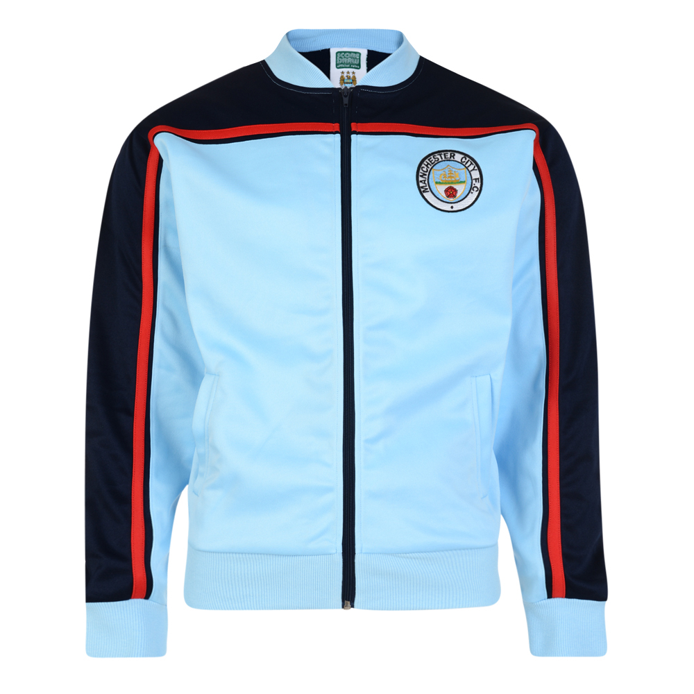 the best attitude 4c06a 10e2e Manchester City 1982 Retro Track Jacket