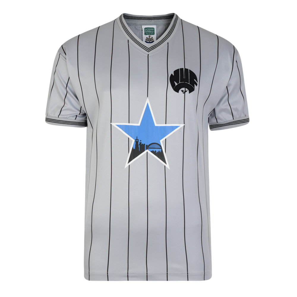 Newcastle United 1984 Away Retro Football Shirt