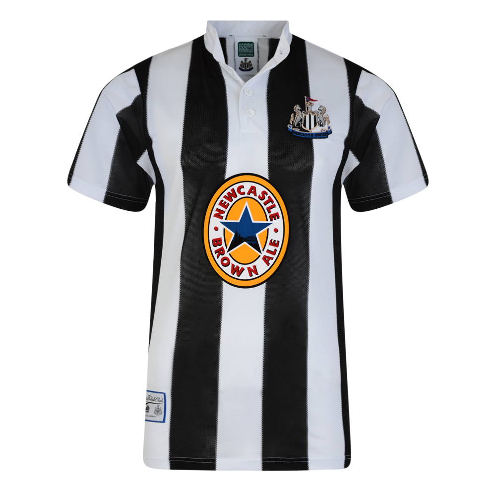 Retro Newcastle United Shirt