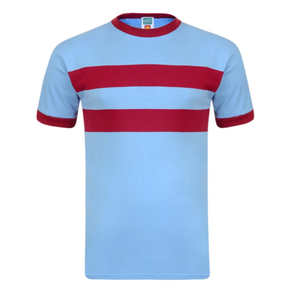West Ham United 1966 Away No6 Retro Football Shirt
