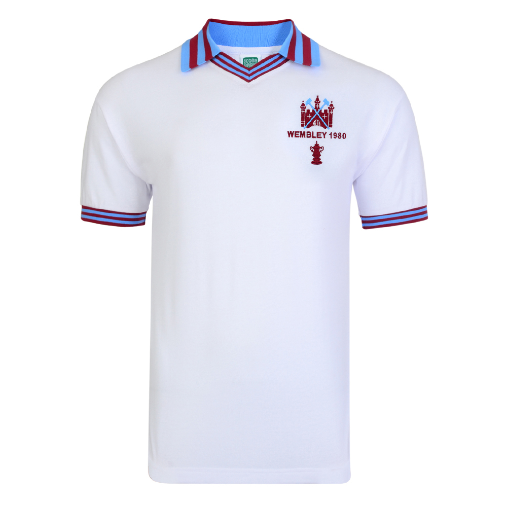 West Ham United 1980 FA Cup Final Retro Shirt