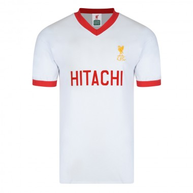 Liverpool 1978 Away Hitachi Retro Football Shirt