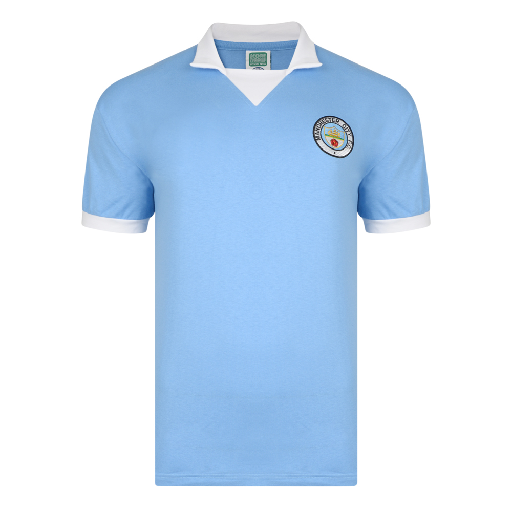 Manchester City 1976 Retro Football Shirt