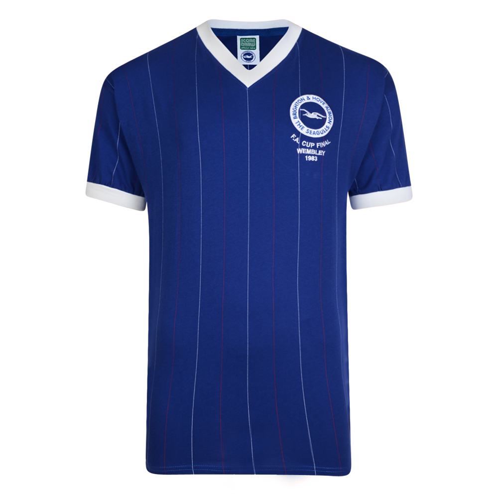 Brighton & Hove Albion Retro Cup Final shirt
