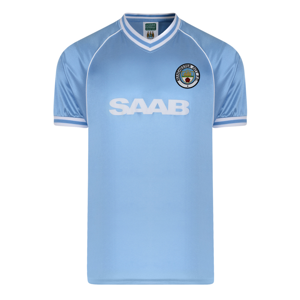 Manchester City 1982 Retro Football Shirt
