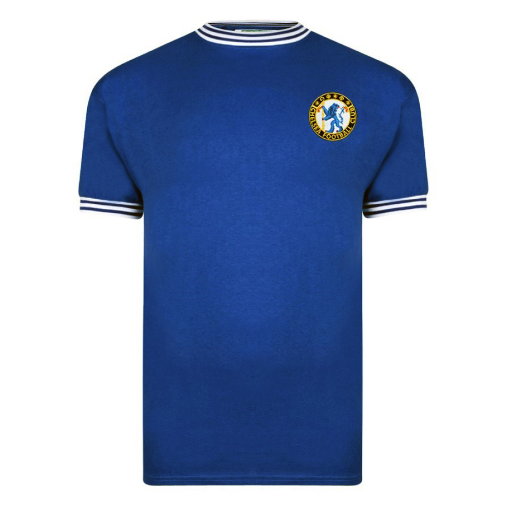Chelsea 1963 No8 Retro Football Shirt