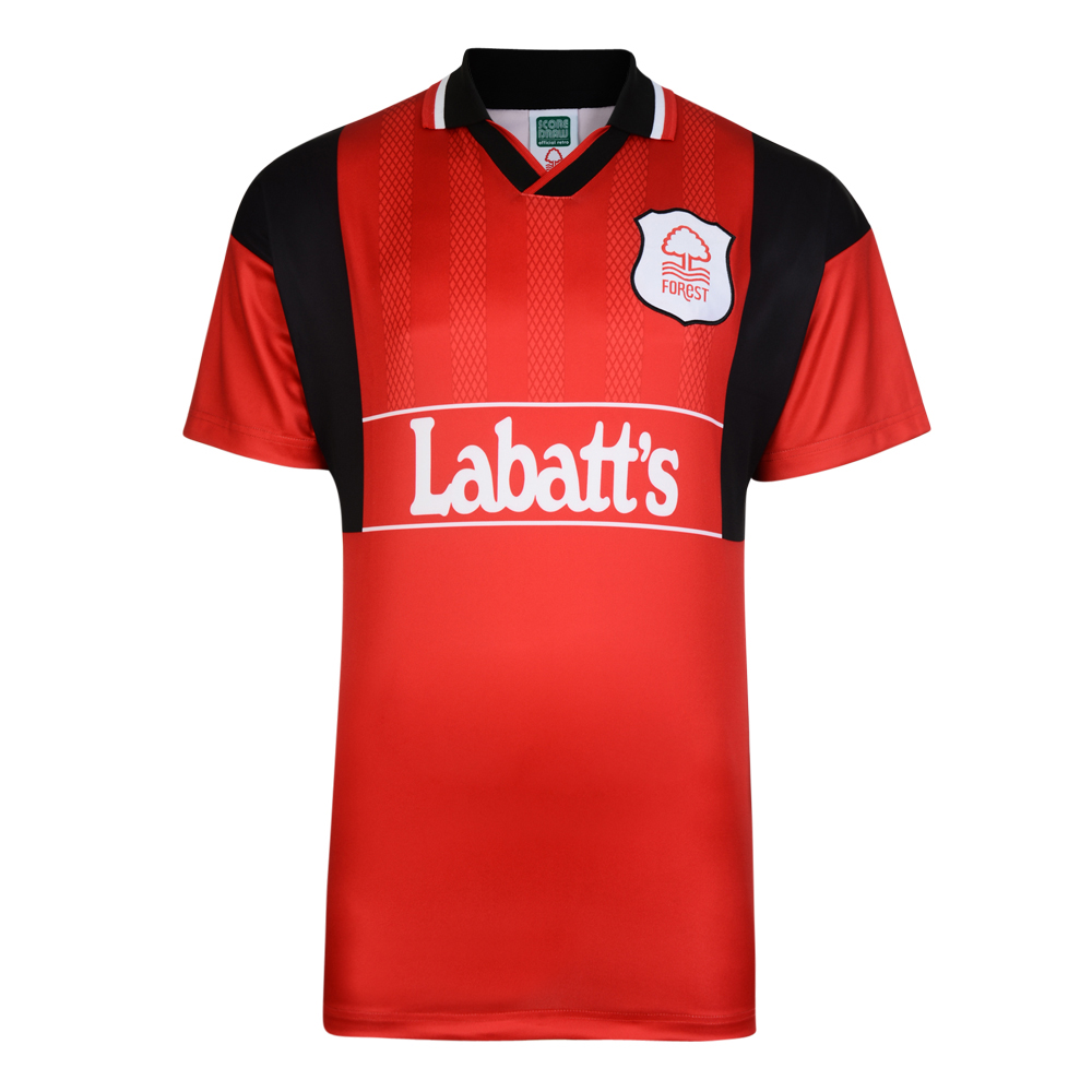 Nottingham Forest Retro Home shirt