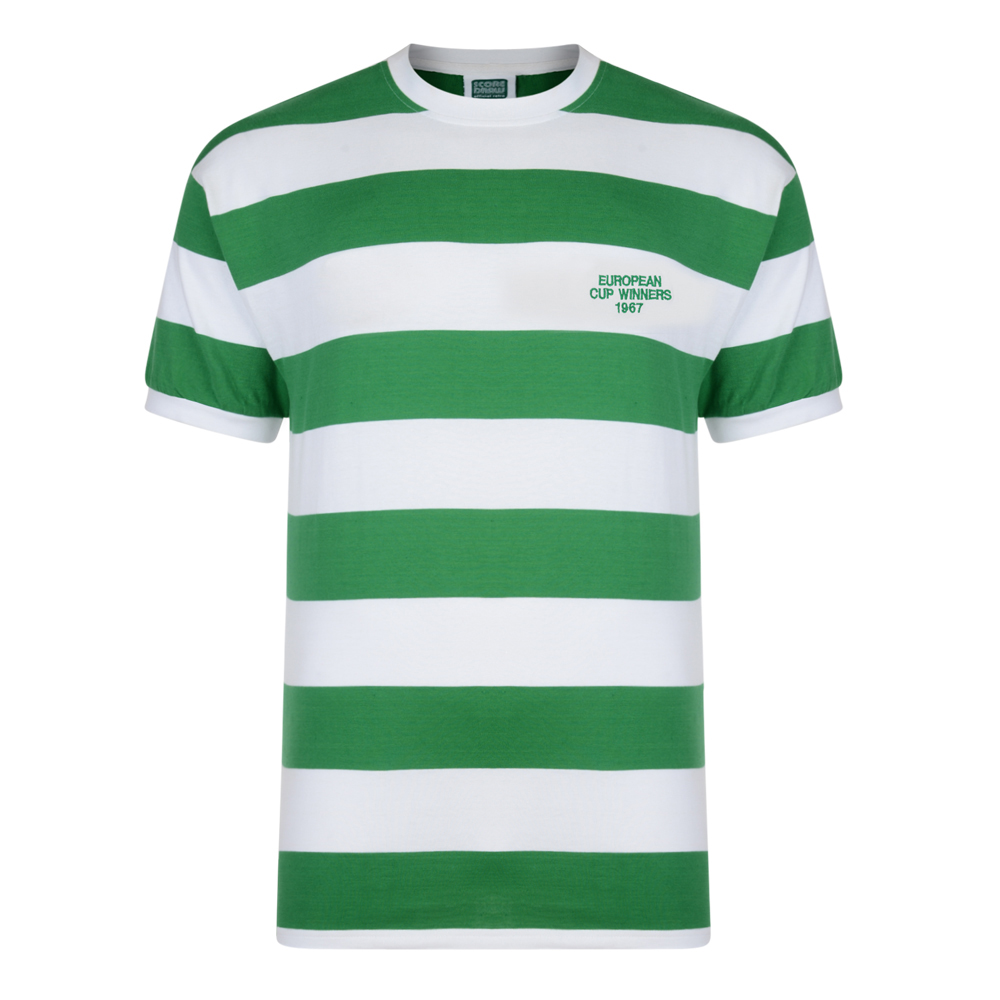 Celtic 1967 European Cup Winners Retro Shirt